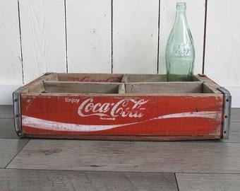 Vintage Coca-Cola Six Pack Crate