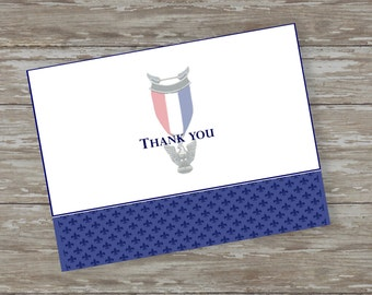 Proud Scout folded thank you cards - set of 15 with white envelopes