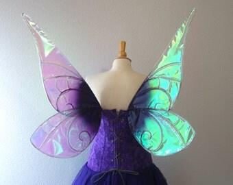 Vidia Tinkerbell Disney Park Inspired Fairy Wings Purple