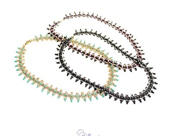 spear necklace beading pattern
