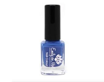 """Stamping polish - """"Denim Blue"""" blue stamping polish"""