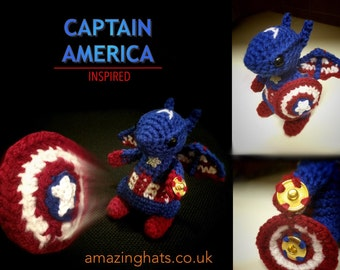 Captain America Dragon - Made to Order