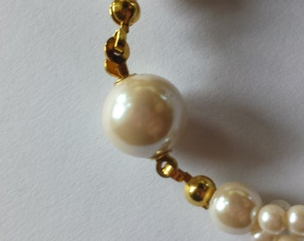 Twisted Faux Pearl Necklace