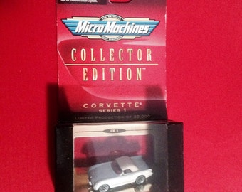 """1954 CORVETTE """"Micro Machines"""" Miniature Model, Mint, in Box, Highly Collectible!"""