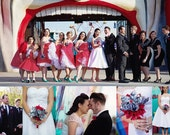Comic Book Wedding Package- choose your favorite comic book, one of a kind origami, custom wedding package