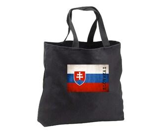 Tote Bag - Slovica Flag - Canvas Tote - Book Bag - Slovica
