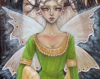 Queen Maeve Fairy Fantasy fine art print