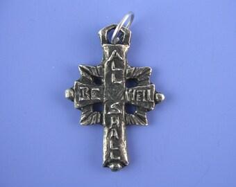 Handmade All Shall Be Well Cross (Julian of Norwich)