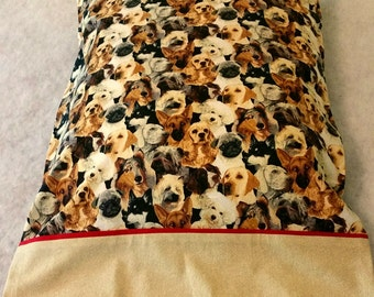 Pillow Case Packed Dogs