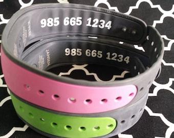 Magic Band Decal, Phone number, ID bracelet, Disney, Mickey, Minnie, Princess, Disney World, Disney Land
