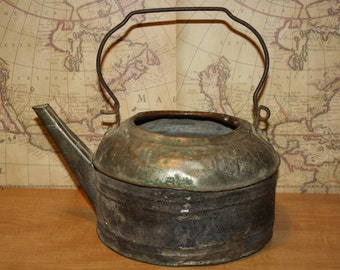 Vintage Copper Kettle - item #2008