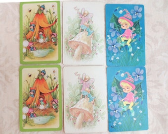 6 Fairies & Elves Playing Cards
