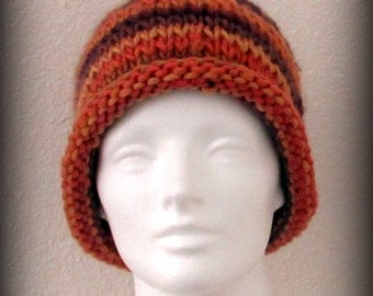 knit hat - knit cap - hand knit hat - beanie - wool knit hat - knit beanie - Merino wool knit hat - Merino wool hat - hand knit merino wool