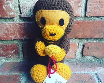 Crochet Baby Milo doll
