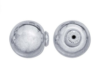 LuxLock™ Sterling Silver  Ball Earring Back Item #: R615032SS, sold in pairs.