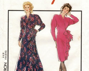 Style 1765 - Cross-Over Dress Pattern sizes 6-16 UK -   NEW - UNUSED
