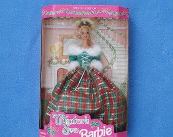 1994 NRFB Special Edition Winter's Eve Barbie Doll