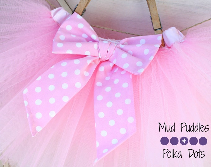 Bow Add On - Bow Matching the Lining of your Tutu Skirt