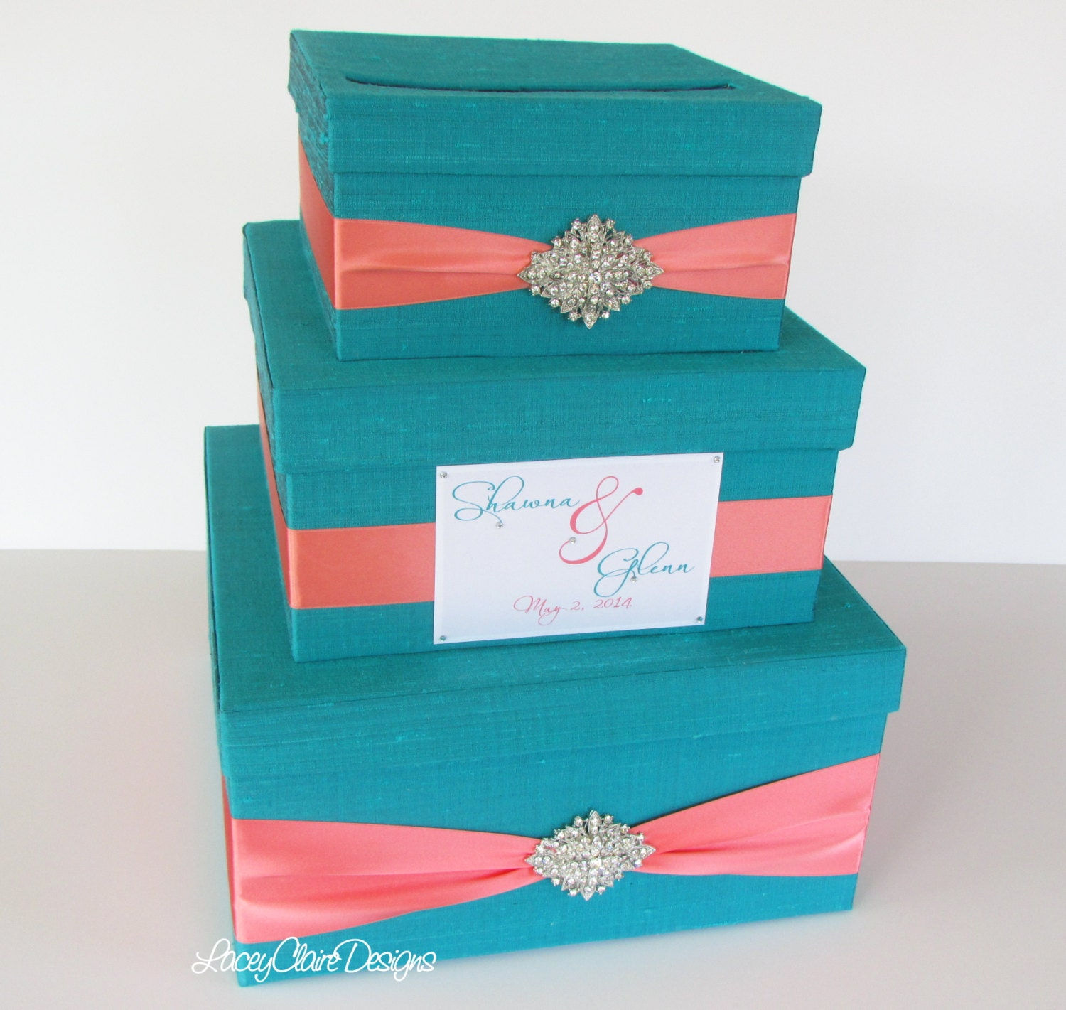 Wedding Gift Envelope Box : Wedding Gift Box Card Box Money Holder Envelope Reception