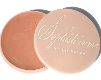 Vintage Make up Sophisti-Creme by Du Barry Pink - Retro Hollywood Glam Girl Cosmetics