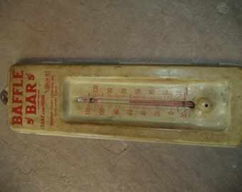 Vintage Thermometer Industrial by Taylor