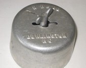 vintage Aluminum Butter Mold by T R Hall made in Burlington NC