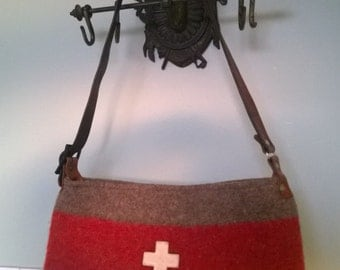 Free Shipping Swiss Army Blanket Bag