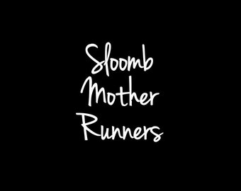 RESERVED LISTING for the Sloomb Mother Runners Only - Personalized Flowy Tank Tops