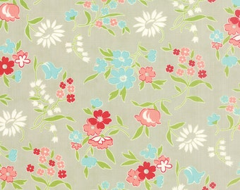 Vintage Picnic - Playful in Gray by Bonnie & Camille for Moda Fabrics