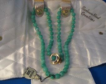 Barbara Reed Pseudo Jade Pearls