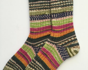 "Ladies' Knitted Socks ""Opal Hundertwasser 2"""