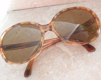 Rodenstock Riva 135 Sunglasses Made in Germany Oversize Tortoise Shell Look Vintage 111215RV