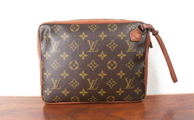 vintage louis vuitton wristlet clutch bag small purse