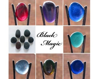 English Sea Glass - Black Magic - Lot DC914