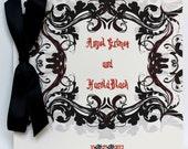 Oktoberfest Halloween Wedding Program or Event Program