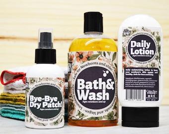 Newborn bath Sample set