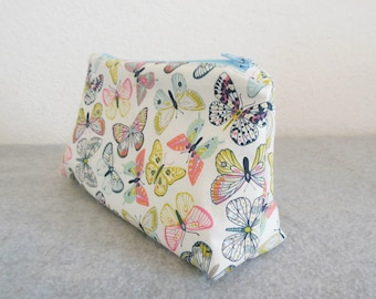 Cosmetic Bag - Butterflies
