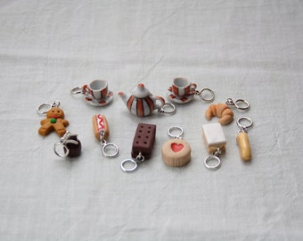 Stitchmarkers - Afternoon Tea - Tea Set & One of Everything - Stitch Markers