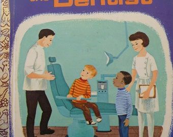 Let's Visit The Dentist Little Golden Book
