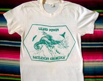 Original 1978 Battlestar Galactica t-shirt