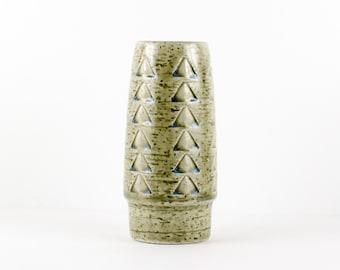 Palshus Denmark Small Vase -- Mid Century Pottery -- C22