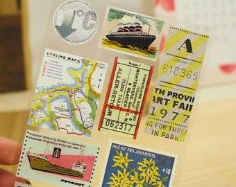 Scrapbooking Stickers Die Cut Stickers Paper Deco Sticker Stamp