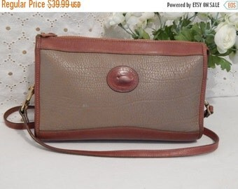 DISCOUNTED Authentic Vintage~Dooney & Bourke~AWL~ Taupe Pebbled Leather~Handbag Satchel cross body bag