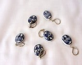 Stitch Markers for Knitting and Crochet /ceramic spirals/ removeable stitch markers /  you choose the amount