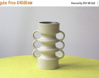 Summersale Vintage Czech Pottery Candle Holder Vase by Ditmar Urbach