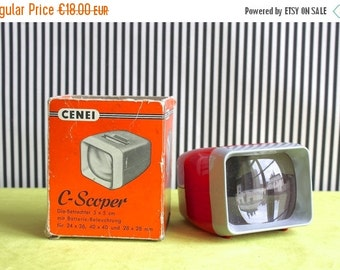 Summersale Cenei C - Scoper Viewer for Slides 5 x 5 cm Made in Germany in the 50s