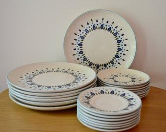 Mid Century Marcrest Swiss Alpine Dinnerware