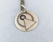 Vulcan IDIC necklace, Star Trek necklace