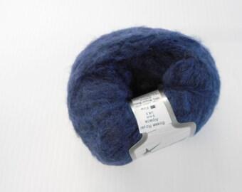 Ice Yarns, Bosse Royal Alpaca in Dark Blue, Knitting Yarn, Fine Weight Alpaca Wool Blend, Y192