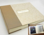 Custom Interleaved Photo Album, Personalized, Design your Own, Made to Order
